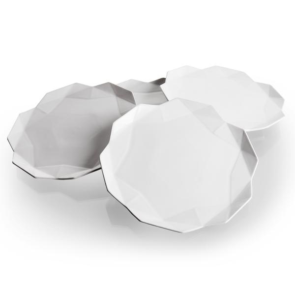 Luxury tableware Lilia Dessert Plates_set of 4