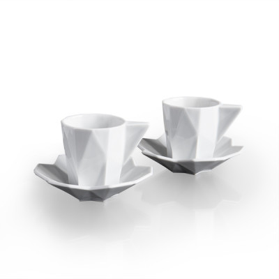 Designer tableware - Lilia Espresso cup and saucer_set of 2