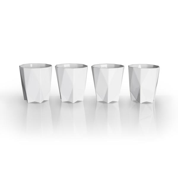 Luxury tableware Lilia Mugs_set of 4