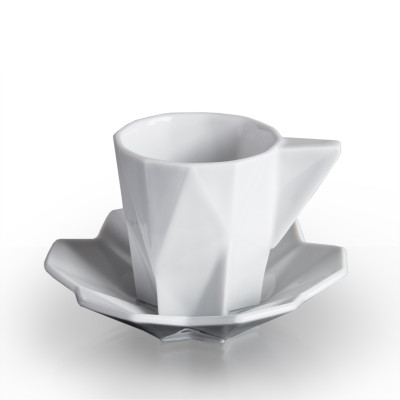 Lilia Espresso Cup and Saucer