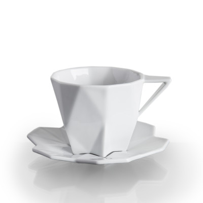 Lilia Tea Cup and Saucer