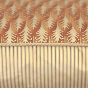 Abbey designer cushion piping